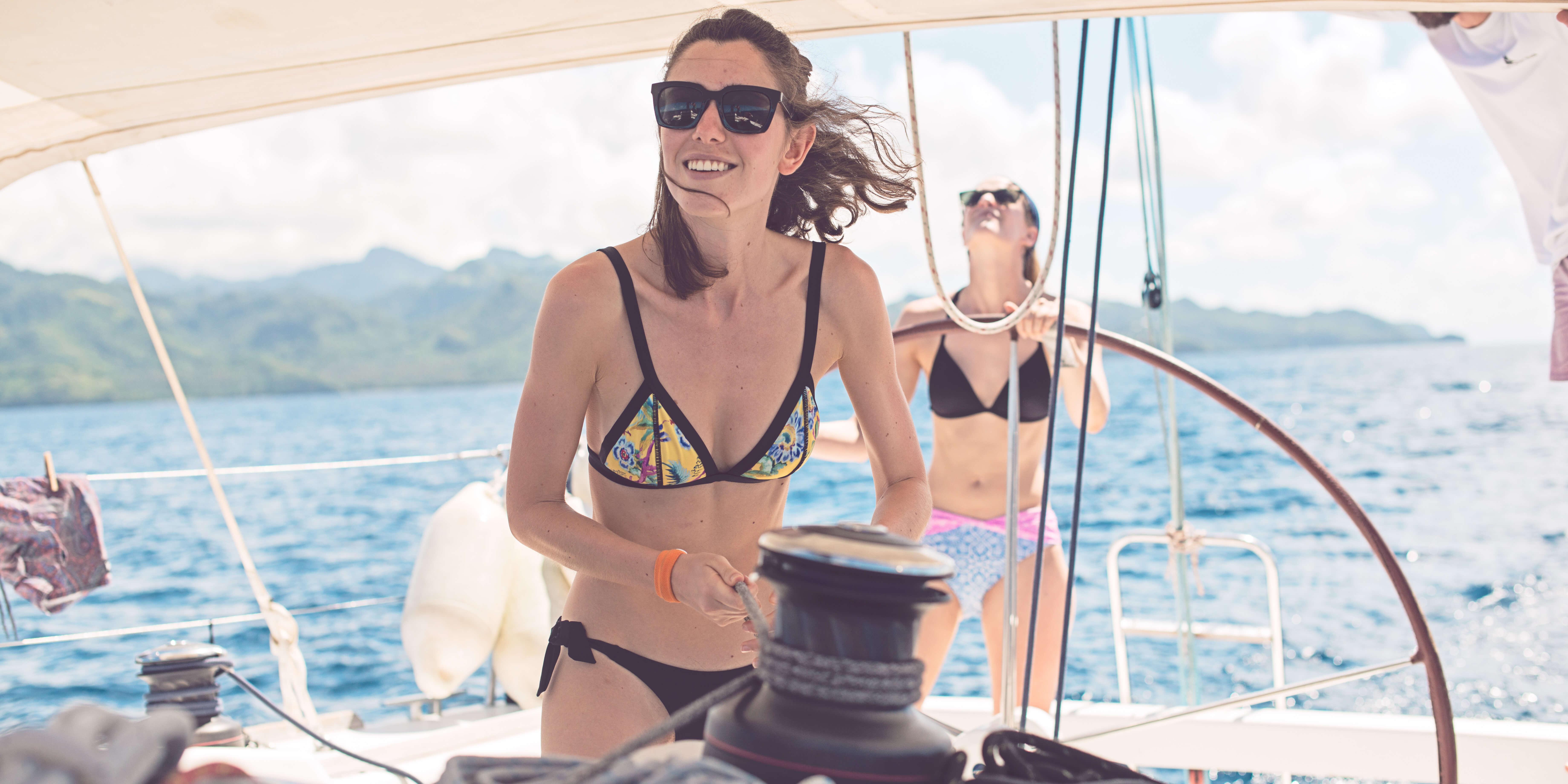 New skills from sailing