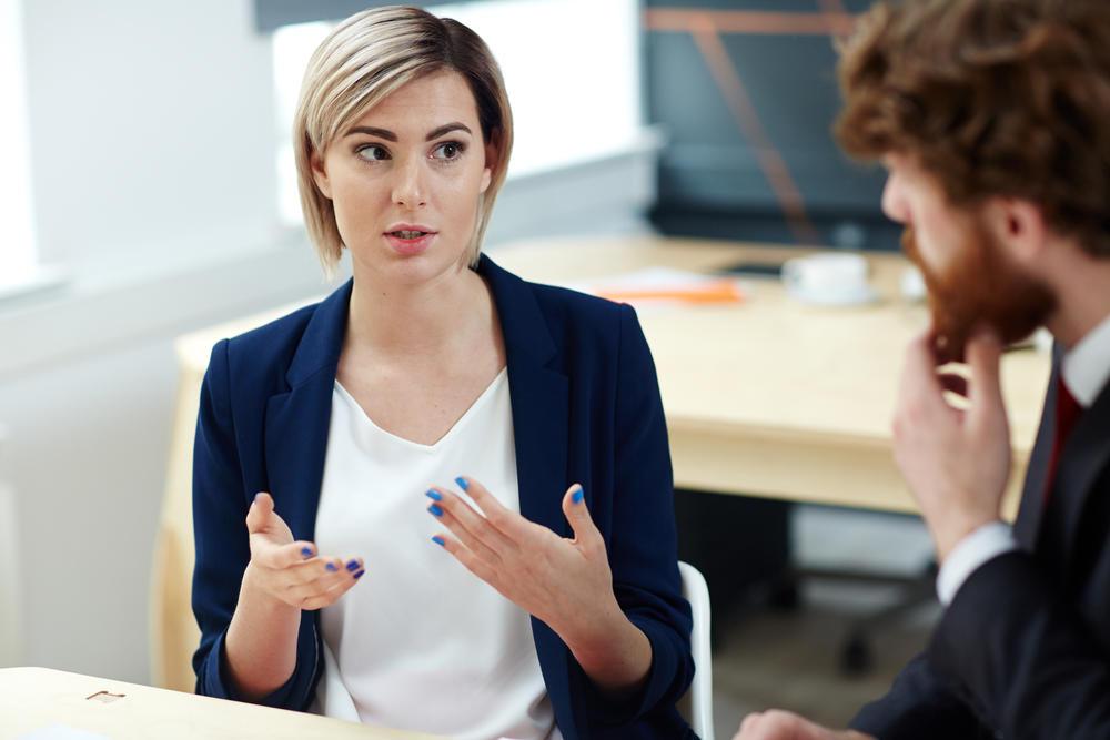 Talking to your boss - Pressmaster - Shutterstock