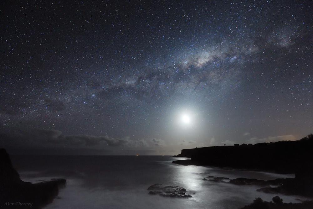 Bright Night Sky - Alex Cherney