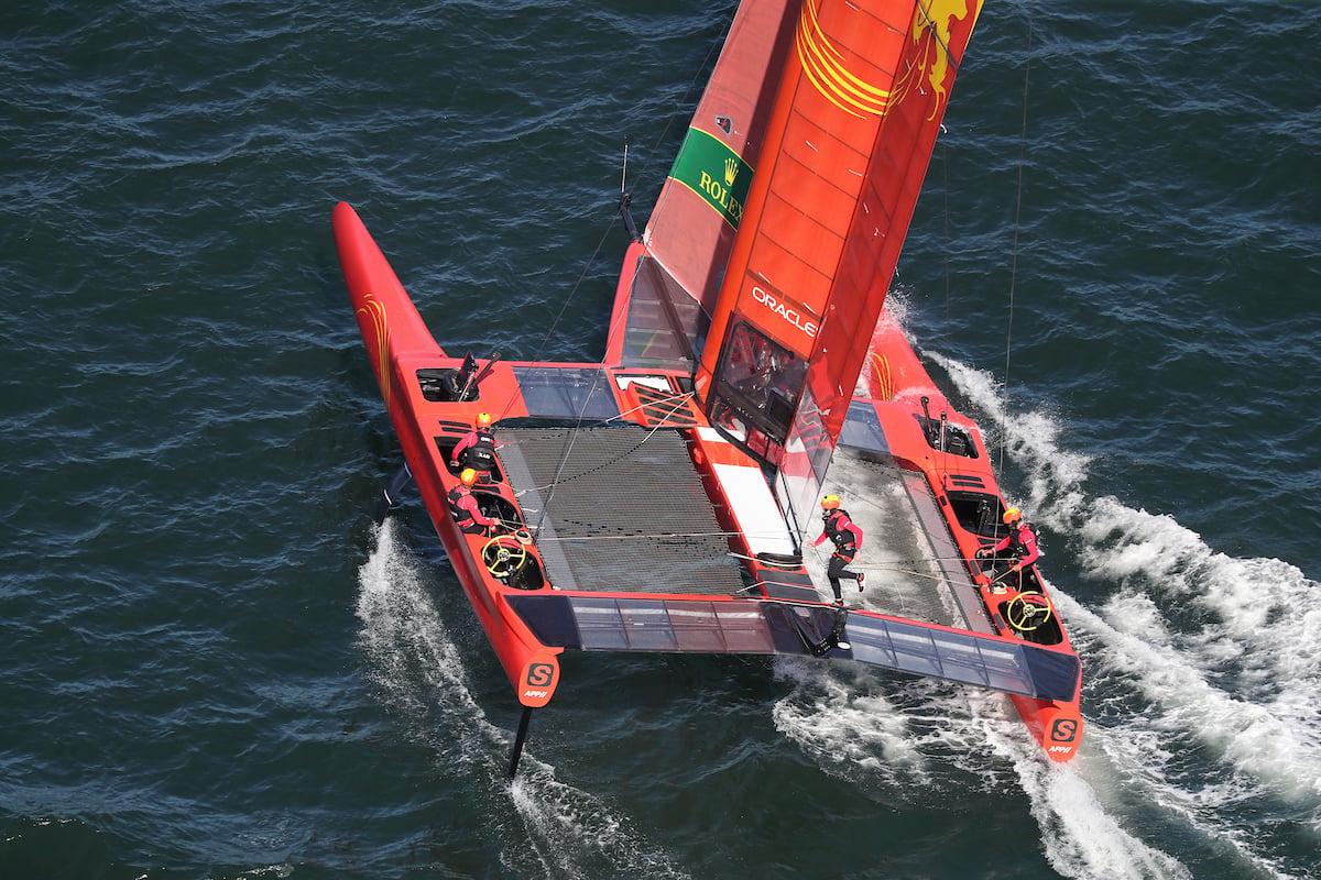 F50 Team Sprints - David Gray - SailGP