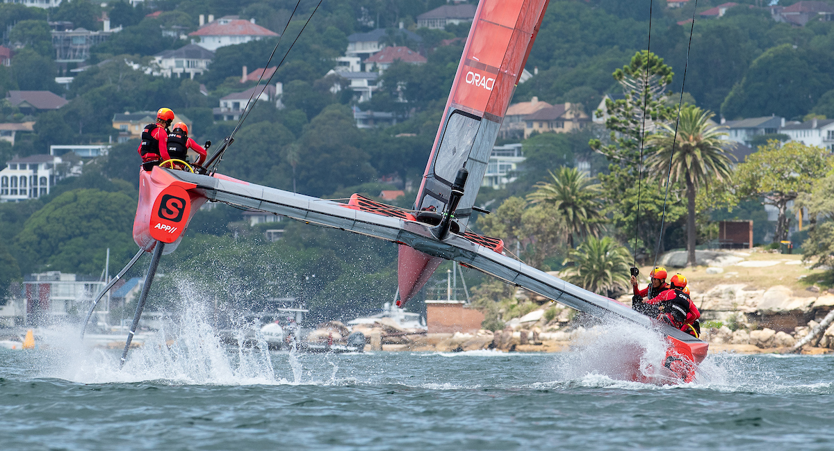 F50 Top Tech - Chris Cameron - SailGP