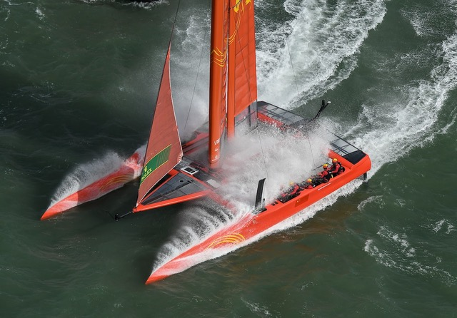 F50 catamaran - Sailing Virgins