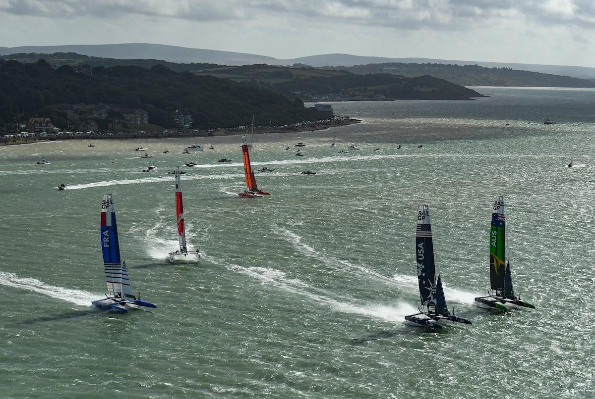 Sailing Competition - Thomas Lovelock - SailGP