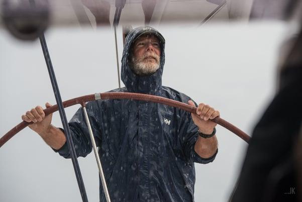 Bob in a spot of rain