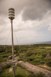 Air raid siren for Montserrat
