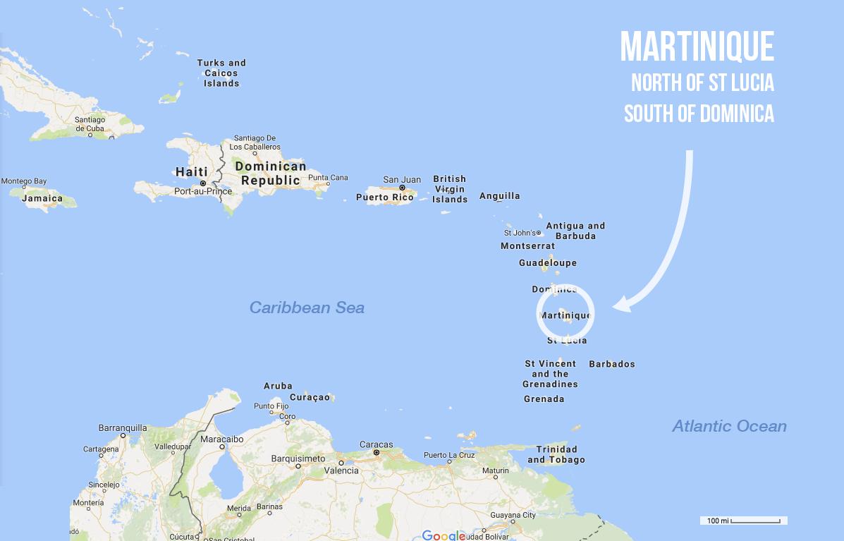 where-martinique-is