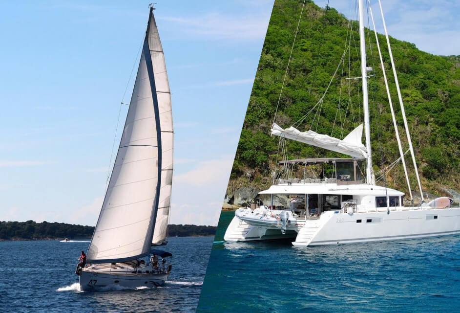 Catamaran vs Monohull