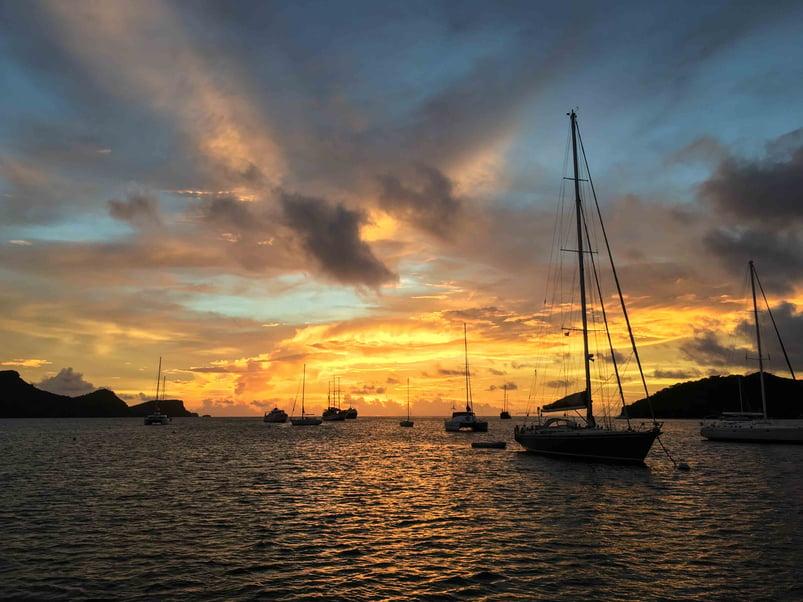sunset-grenada-sailing-yachts
