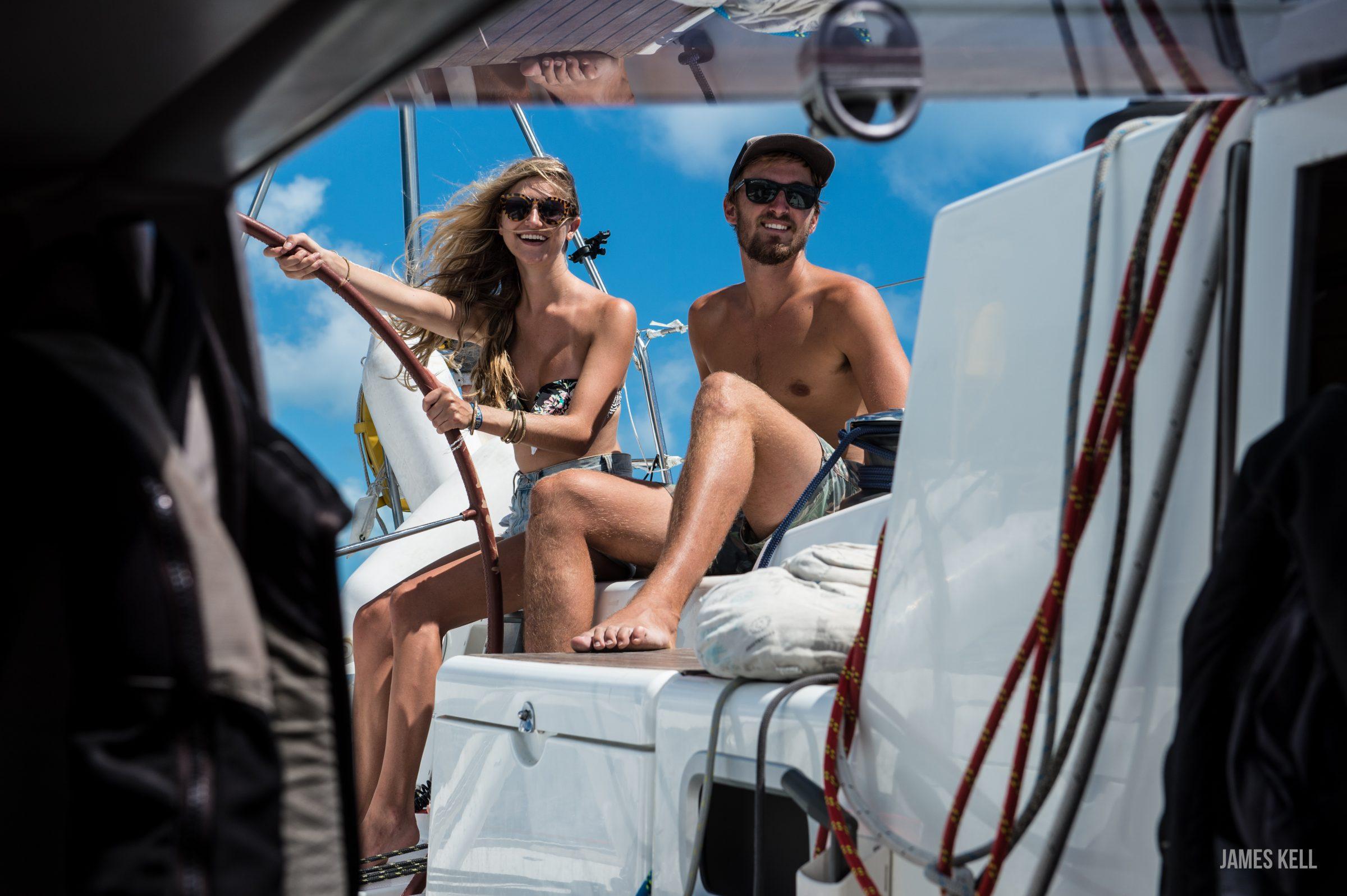 caribbean coastal navigation sailing virgins